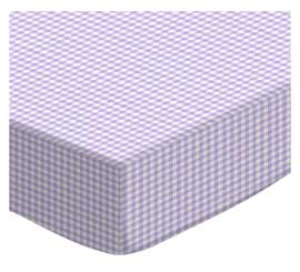 Pastel Lavender Gingham Woven