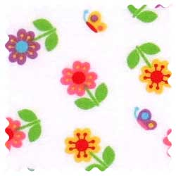 Colorful Roses Fabric