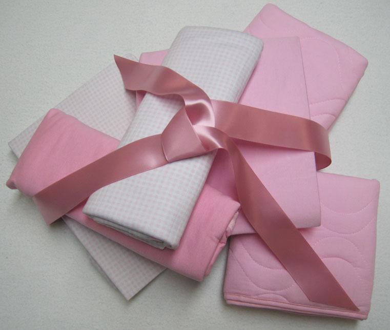 Basic Layette 6 Piece Gift Set - Girls
