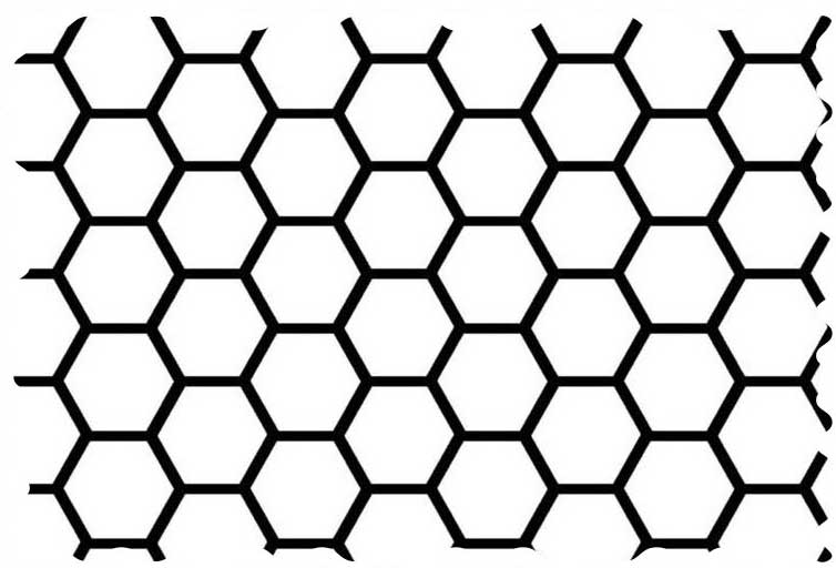 White Honeycomb Fabric - 100% Cotton - 38 x 43 inches