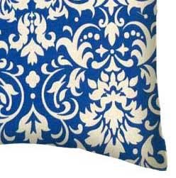 Percale Pillow Case - Royal Damask