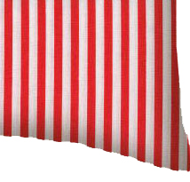 Percale Pillow Sham - Red Stripe