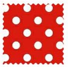 100% Cotton Woven - Primary Polka Dots Fabric Shop