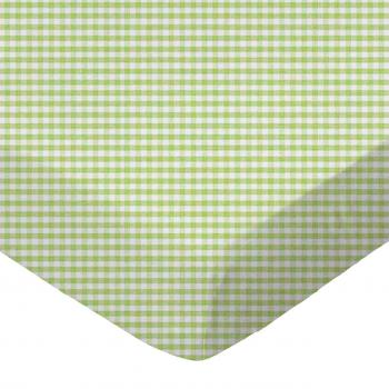 Sage Gingham Jersey Knit