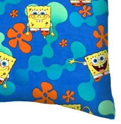 Percale Pillow Case - Sponge Bob