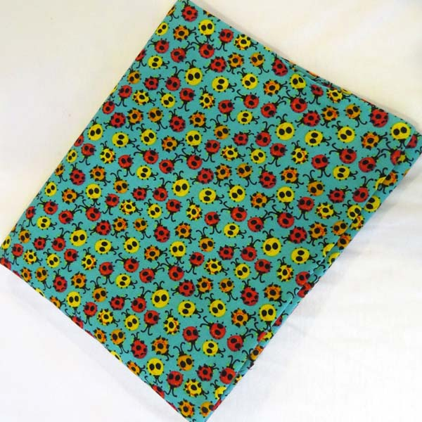 Ladybugs Cotton Baby Pillow Case