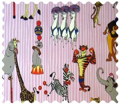 Madagascar Pink Fabric
