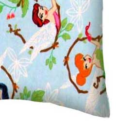Flannel Pillow Case - Fairies