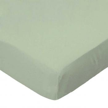 Oval (Stokke Mini) - Flannel - Sage - Fitted Oval - 100% Cotton Flannel - Solid Color Flannels Oval Sheets