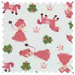 Princess & Unicorns Fabric