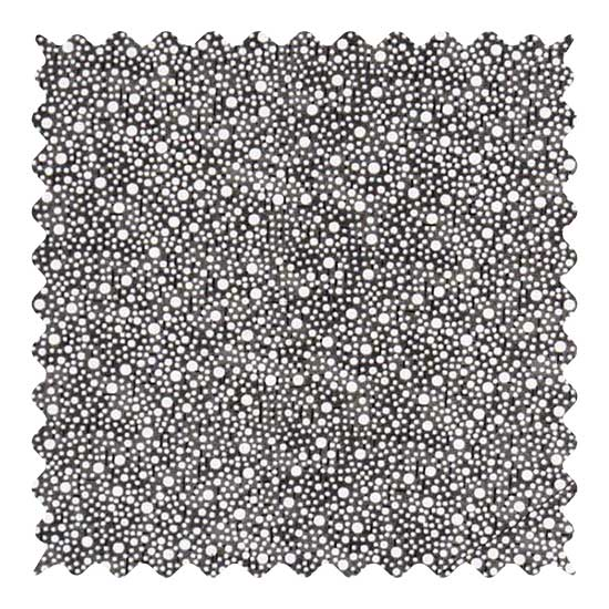 Black Confetti Dots Fabric - 100% Cotton - 32 x 44 inches