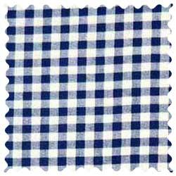 Royal Gingham Check Fabric