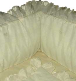 Ivory Hearts Cradle Set