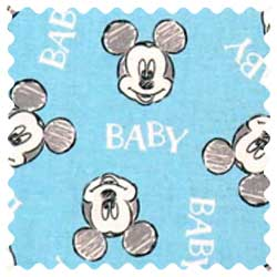 Mickey Mouse Baby Fabric