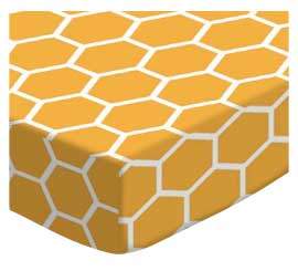 Mustard Yellow Honeycomb