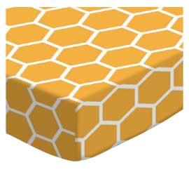 Mustard Yellow Honeycomb