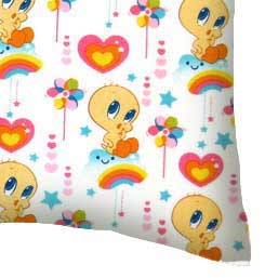 Percale Pillow Case - Tweety Love