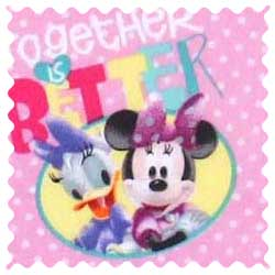 Minnie & Daffy Fabric