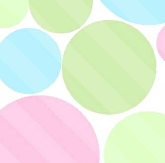 Portable / Mini Crib - Pastel Colorful Dots - Matching Bumper - 100% Cotton Woven - Modern Print Collection Portable / Mini Crib Sheets