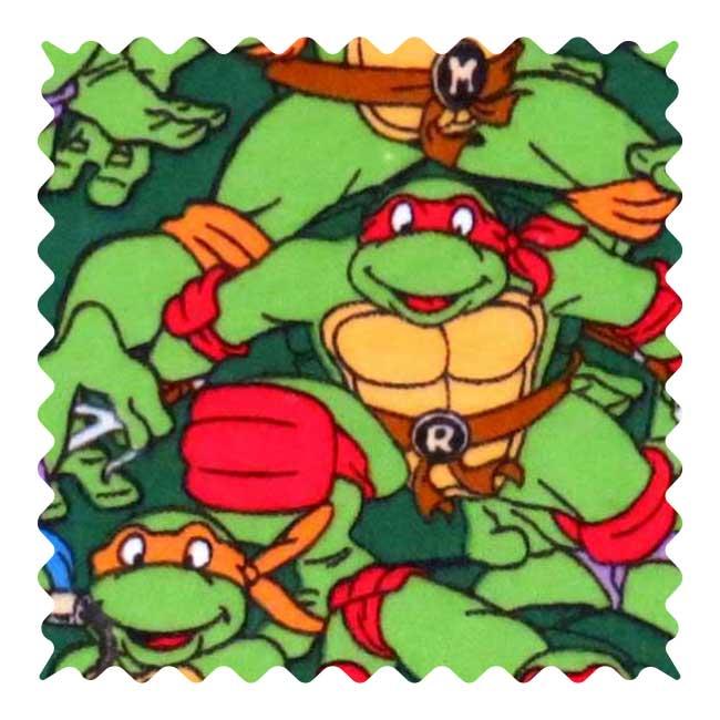 Ninja Turtles Flannel Fabric