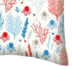 Percale Pillow Case - Under The Sea
