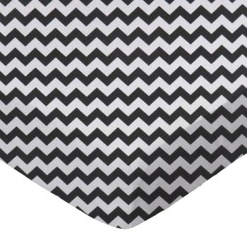 Black Chevron Zigzag