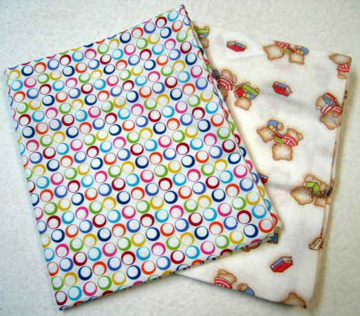 2 Pack Primary Color Rings Amp Book Bear Cotton Baby