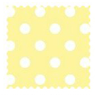 100% Cotton Woven - Pastel Polka Dots Fabric Shop