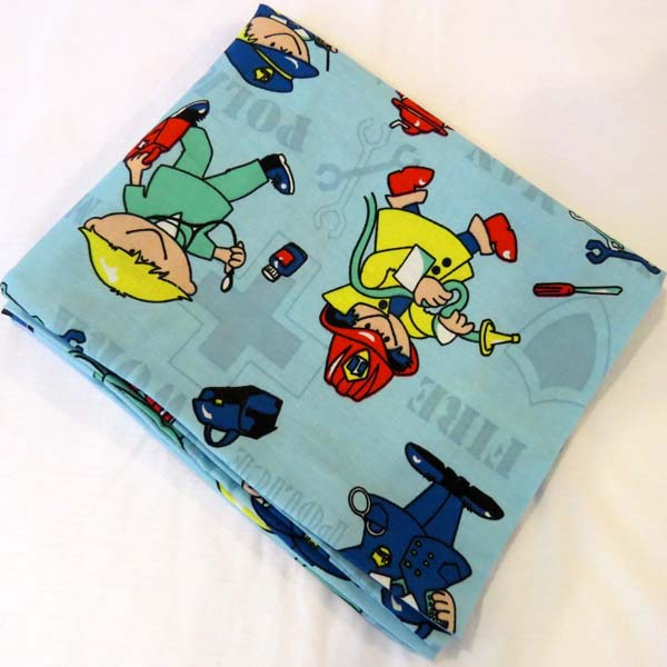 Kiddie Profession Cotton Baby Pillow Case