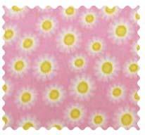 Fabric Shop - Pink Sunshine Fabric - Yard - 100% Cotton Flannel - Flannel Fabric Shop