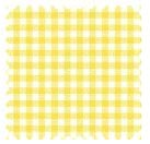 Primary Yellow Gingham Woven Fabric