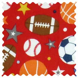 Sports Red Fabric