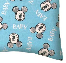 Percale Pillow Case - Mickey Mouse Baby