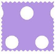 Polka Dots Lavender Fabric