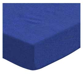 Oval (Stokke Mini) - Flannel - Royal Blue - Fitted Oval - 100% Cotton Flannel - Solid Color Flannels Oval Sheets