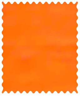 Flannel - Orange Fabric