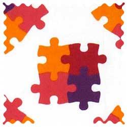 Puzzle Fabric