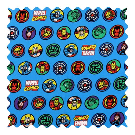 Marvel Comics Fabric - 100% Cotton Jersey - 23 x 58 inches
