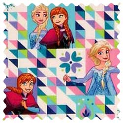 Frozen Sisters Fabric