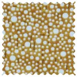 Confetti Dots Camel Fabric
