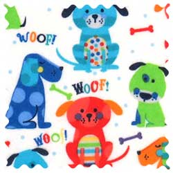 Doggies Fabric