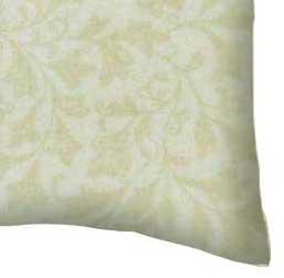 Percale Pillow Case - Petite Floral Beige