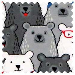 Polar Bears Fabric