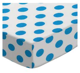 Turquoise Polka Dots
