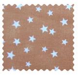 Cloudy Stars Camel Fabric