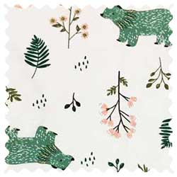Woodland Bears Fabric