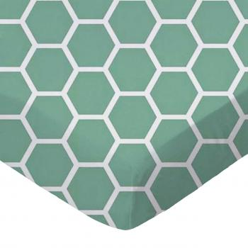 Seafoam Blue Honeycomb