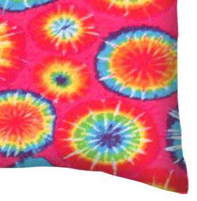 Twin Pillow Case - Tie Dye Jersey Knit