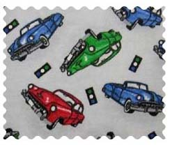 Fabric Shop - City Cars Fabric - Yard - 100% Cotton Flannel - Baby Transport Fabric Shop