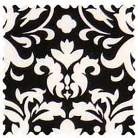 White Damask Fabric